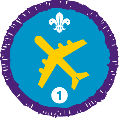 Air Activities Staged Activity Badge