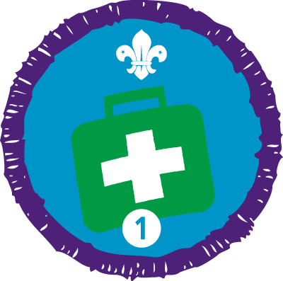 Emergency Aid Staged Activity Badge