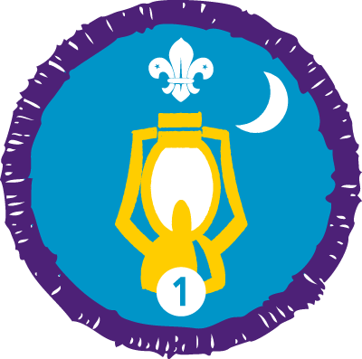 Nights Away Staged Activity Badge
