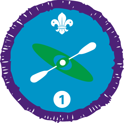 Paddle Sports Staged Activity Badge